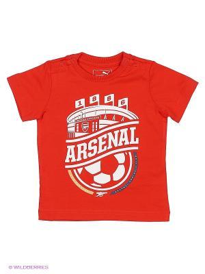 Футболка AFC Minicats Graphic Tee Puma. Цвет: красный