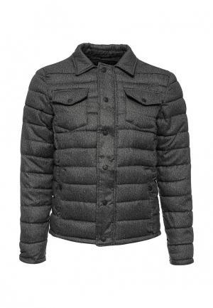 Куртка Fresh Brand. Цвет: серый