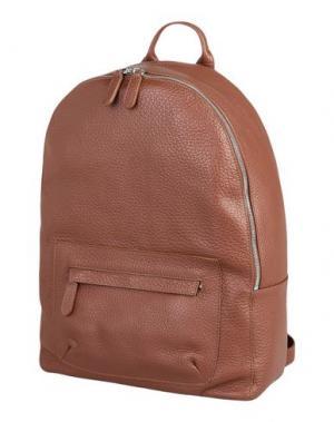Рюкзаки и сумки на пояс ELEVENTY. Цвет: коричневый