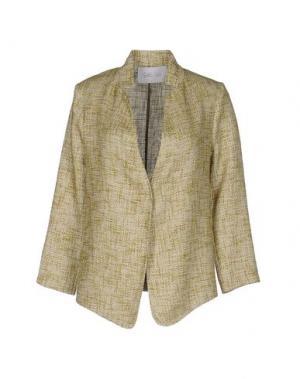 Пиджак GOLD CASE. Цвет: зеленый-милитари