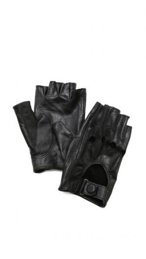 Байкерские перчатки без пальцев Carolina Amato