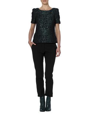 Блузка APART. Цвет: зеленый, черный