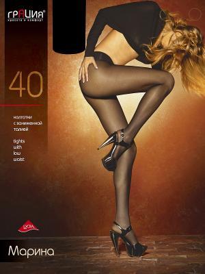 Колготки женские МАРИНА топ 40 Грация. Цвет: черный