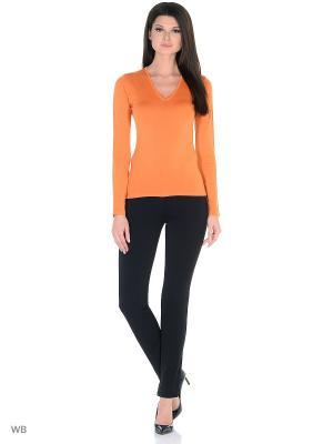 Пуловер Glenfield. Цвет: оранжевый