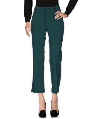 Повседневные брюки F.IT. Цвет: изумрудно-зеленый
