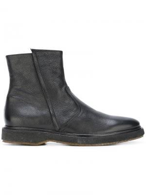 Ботинки по щиколотку Henderson Baracco. Цвет: чёрный