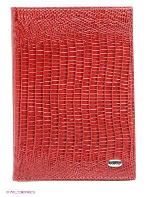 Обложка на паспорт Petek. Цвет: красный, бордовый