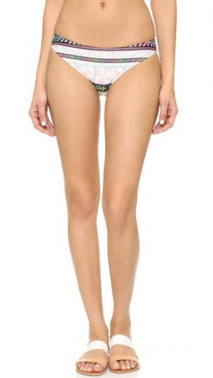 Классические плавки бикини Mara Hoffman. Цвет: серая вертушка