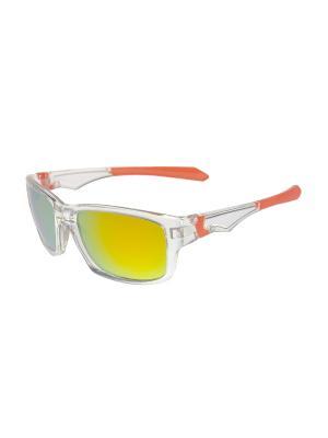 Солнцезащитные очки Gusachi. Цвет: розовый, желтый