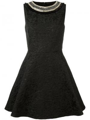 Расклешенное платье Amen. Цвет: чёрный
