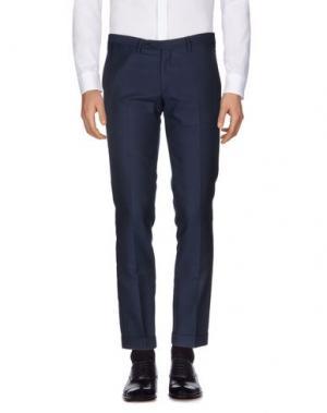 Повседневные брюки EXIBIT. Цвет: темно-синий
