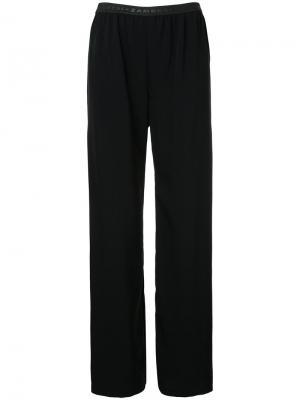 Плиссированные брюки Zambesi. Цвет: чёрный