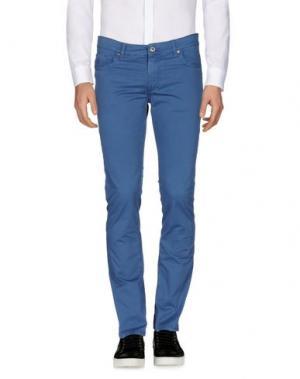 Повседневные брюки FIFTY FOUR. Цвет: грифельно-синий