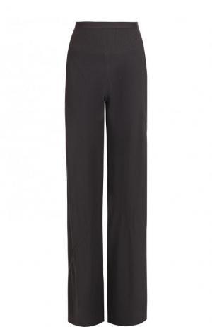 Однотонный расклешенные брюки с карманами Rick Owens. Цвет: серый