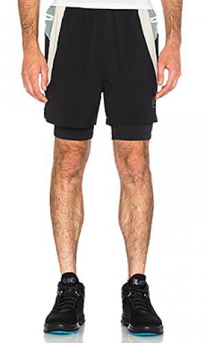 Высококачественные шорты nigel Brandblack. Цвет: черный