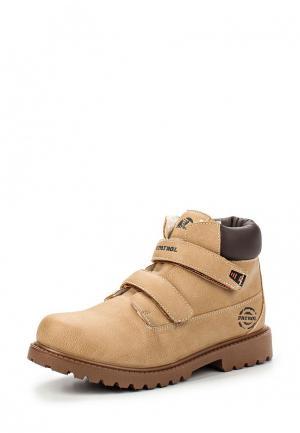 Ботинки Patrol. Цвет: бежевый