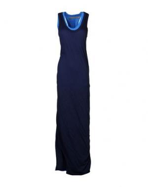 Длинное платье ENZA COSTA. Цвет: темно-синий