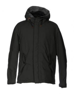 Куртка BARACUTA. Цвет: темно-зеленый
