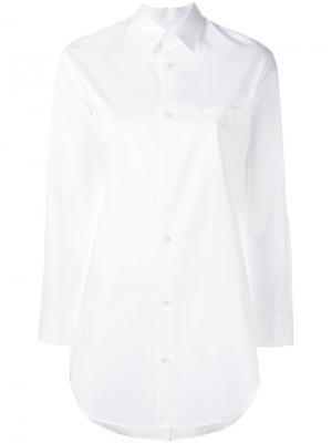 Рубашка бойфренда Junya Watanabe Comme Des Garçons. Цвет: белый