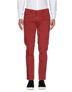 Повседневные брюки BARBATI. Цвет: кирпично-красный
