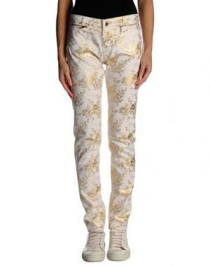 Повседневные брюки MORGAN DE TOI. Цвет: белый