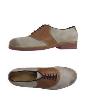 Обувь на шнурках MR. WOLF. Цвет: серый