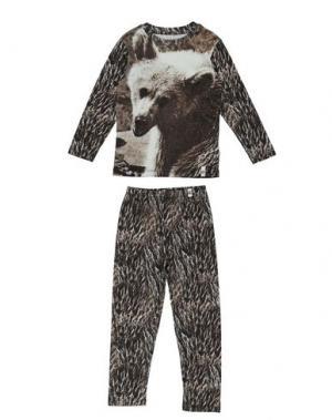 Пижама POPUPSHOP. Цвет: стальной серый