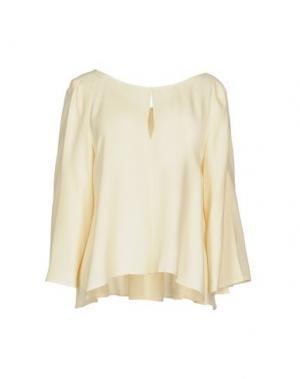Блузка TARA JARMON. Цвет: слоновая кость
