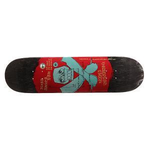 Дека для скейтборда  Anderson Jabb Dance 31.84 x 8.18 (20.8 см) Krooked. Цвет: черный,красный,голубой
