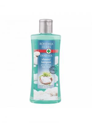 Шампунь для волос с экстрактом морских водорослей и соли Мертвого моря Dead Sea BOHEMIA. Цвет: прозрачный