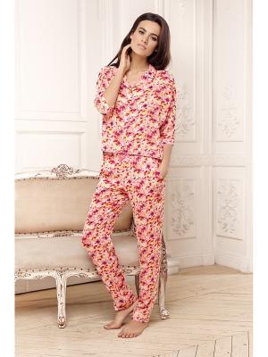 Пижама Laete. Цвет: оранжевый