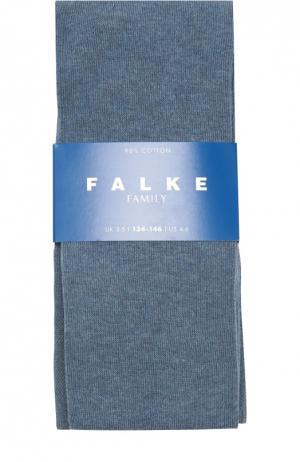 Колготки из эластичного хлопка Falke. Цвет: голубой