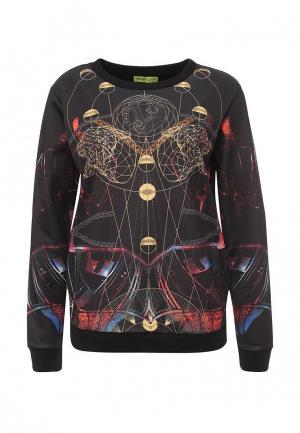Свитшот Versace Jeans. Цвет: черный