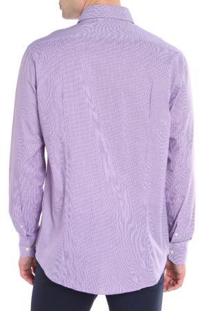 Рубашка RINO BASILE. Цвет: сиреневый