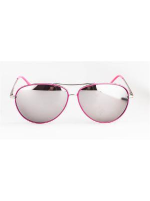 Очки солнцезащитные LOUNGE. Цвет: розовый