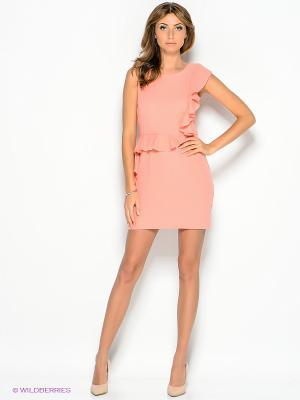 Платье Top Secret. Цвет: персиковый