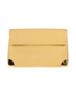 Сумка на руку GOLDEN LANE. Цвет: желтый