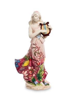 Статуэтка Волшебная Лира Pavone. Цвет: белый, бордовый