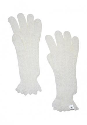 Перчатки ОренбургШаль. Цвет: белый