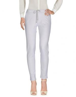Повседневные брюки BRUNO MANETTI. Цвет: светло-серый