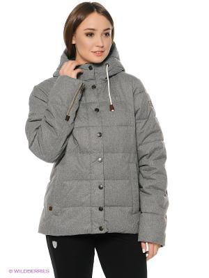Куртка Tenson. Цвет: серый, белый