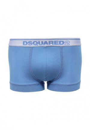 Трусы Dsquared Underwear. Цвет: голубой