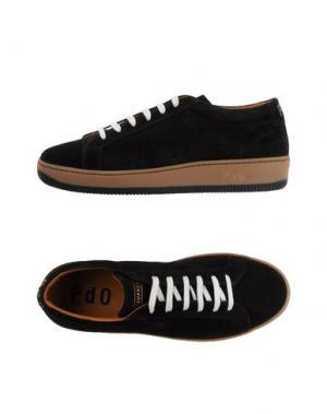 Низкие кеды и кроссовки PANTOFOLA D'ORO. Цвет: черный