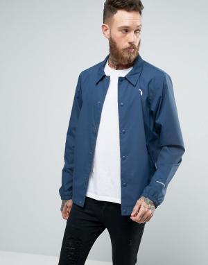 The North Face Синяя спортивная куртка. Цвет: синий