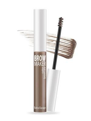 Тушь для бровей BROW MAKER, т. 14 Belor Design. Цвет: светло-коричневый
