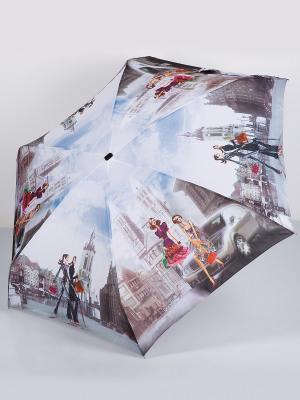 Зонт Zest. Цвет: голубой, белый, серый