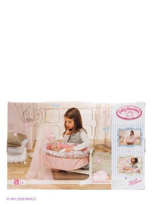 Игрушка Baby Annabell Колыбель с ночником, кор. ZAPF. Цвет: розовый