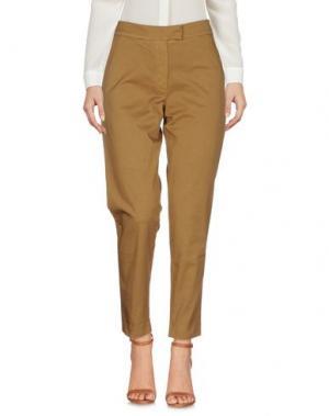 Повседневные брюки BARENA. Цвет: верблюжий