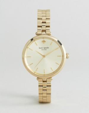 Kate Spade Часы New York Holland. Цвет: золотой