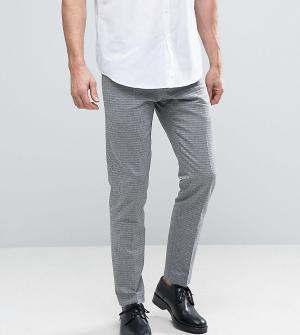 Noak Жаккардовые брюки скинни. Цвет: темно-синий